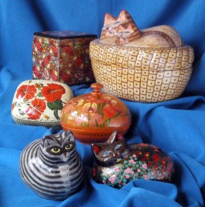 photo of kashmiri urns