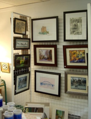photo of art display