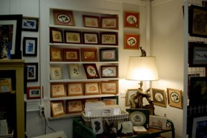 photo of shop display