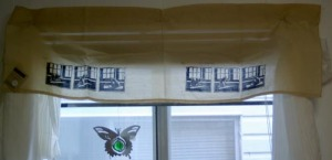 photo of printed valance