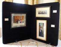 photo of my art display