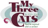 my three cats logo