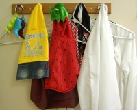 photo of clothes on hook
