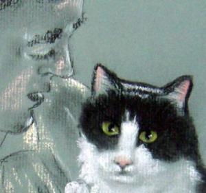 simba portrait detail