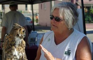 owl and handler