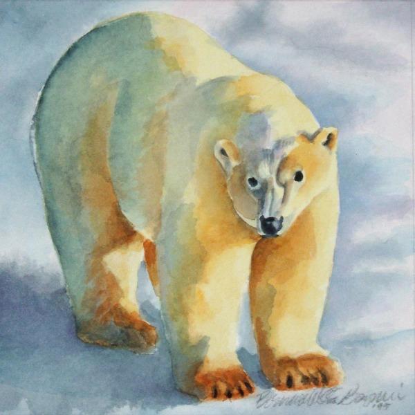 white polar bear original