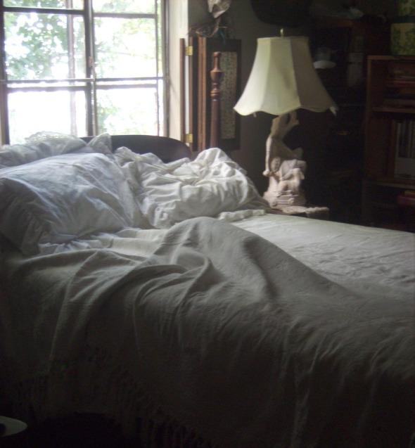 lump under bedspread