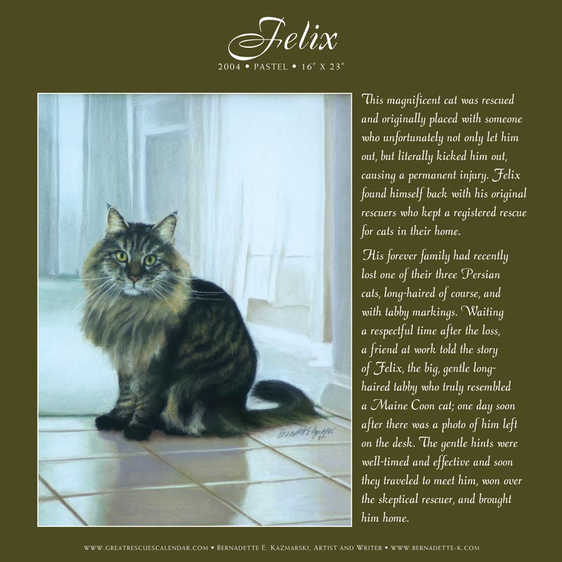 page in great rescues calendar and gift book