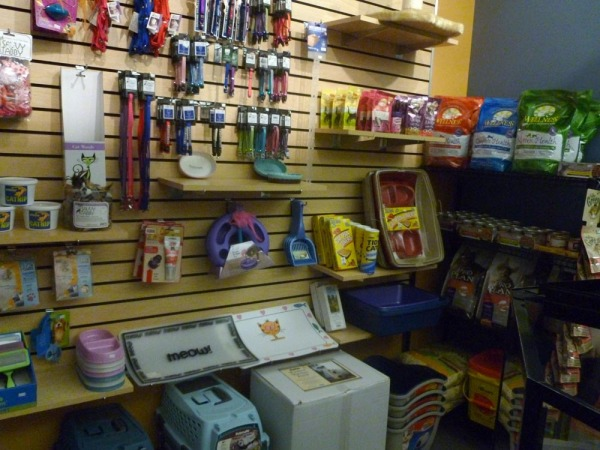 photo of cat items in store at wphs