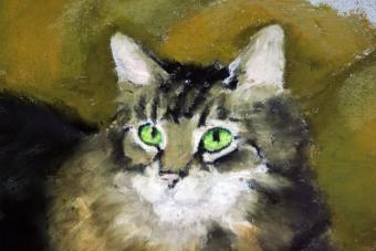 detail of portrait
