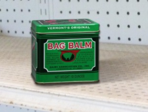 bag balm at the agway