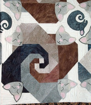 Section from quilt