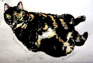 tortoiseshell cat print