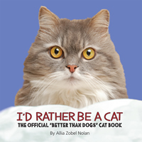 cover of i'd rather be a cat
