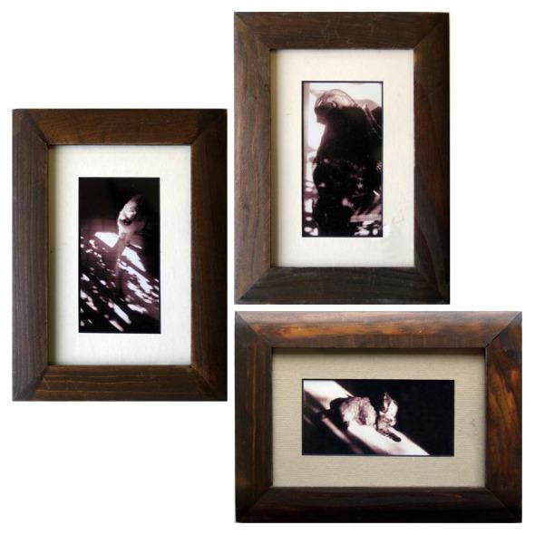 set of sepia miniatures